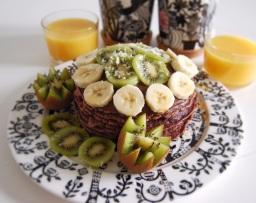 Eeppiset vegaaniset suklaapannukakut